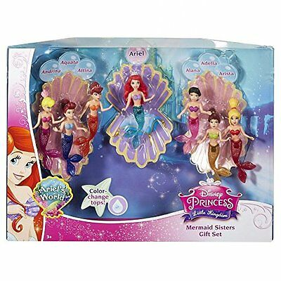 Disney Princess Favorite Moments Mermaid Doll 7-Pack - The Little Mermaid S