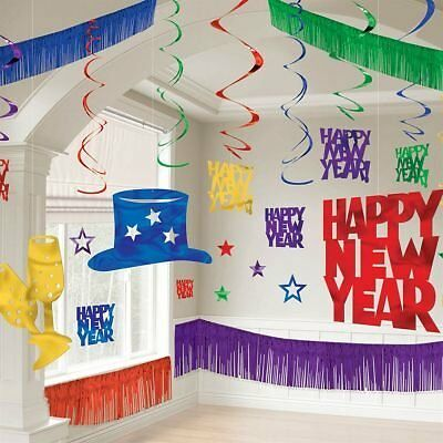 Multi-Color New Year's Decorating Kit