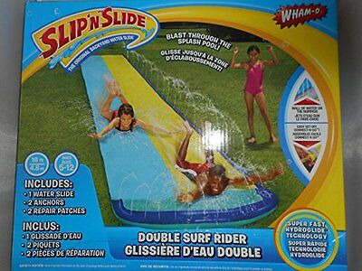 Double Surf Rider Water Slide! Wham-o Slip N Slide Blast Thr