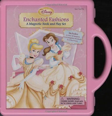 Enchanted Fashions: A Magnetic Book and Playset (Book and Ma