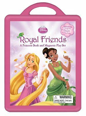 Royal Friends: A Princess Book and Magnetic Play Set
