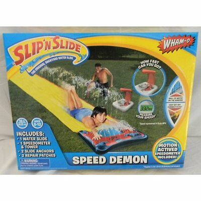 Wham-o Speed Demon Slip 'N Slide with Motion Active Speedome