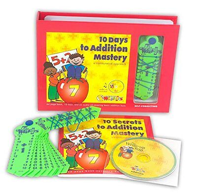 Learning Wrap-ups 10 Days to Addition Mastery Kit with CD