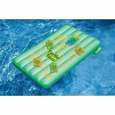 Swimline Inflatable Turtle Toss Game for Swimming Pools