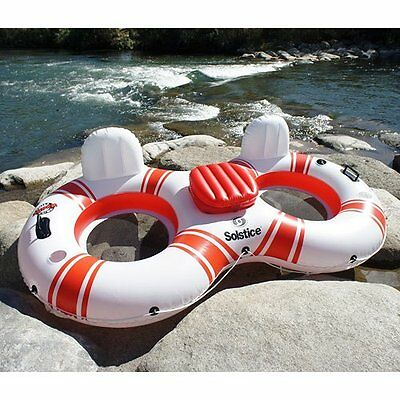 Solstice Super Chill Tube Duo Pool Float