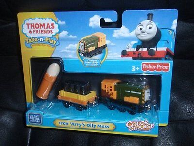 Fisher-Price Thomas & Friends Take-n-Play Color Change Iron
