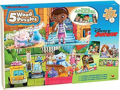 Disney Junior Puzzle Set in Storage Box- Sofia the First, Do