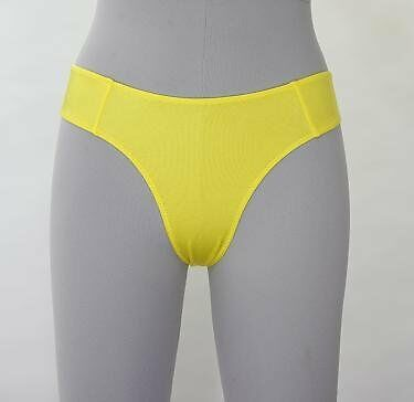 Color underwear / high-cut yellow W-CS50-007 (japan import)