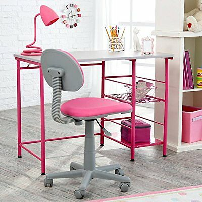 Study Zone II Desk & Chair - Pink