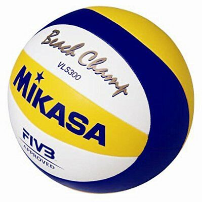 Mikasa FIVB Official Beach Game Ball 2010, yellow/white/blue