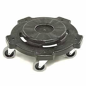 Continental 3255 Black Huskee Round Dolly