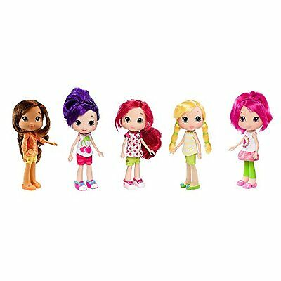 Strawberry Shortcake Berry Best Adventure 5 Doll Collection