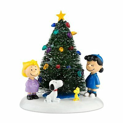 Peanuts Village from Department 56 O' Christmas Tree