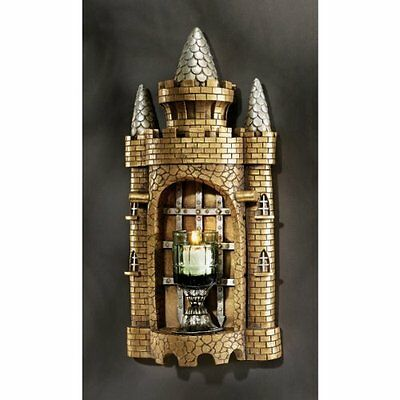 Design Toscano Castle Tower Gothic Wall Sculpture