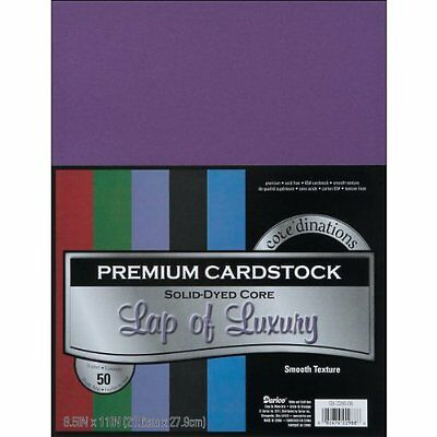 Darice GX220009 Coordination Value Cardstock, 8.5 by 11-Inch, Lap of Luxury