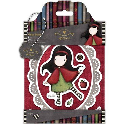 Simply Gorjuss Urban Stamps-Little Red, 10 Images