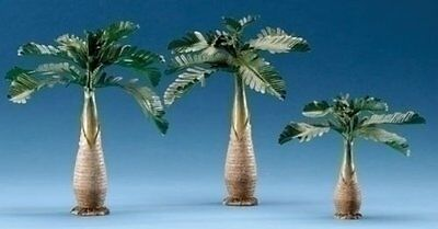 "3 Pc Set 8"" Palm Tree For 5"" Scale Fontanini by Roman"
