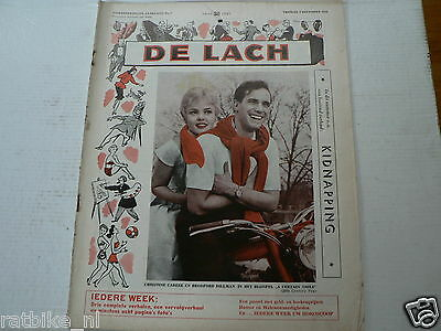 De Lach 1958 Nr 7 Christine Carere,brodford Dillman Peugeot Moto,whitney,darlyn,