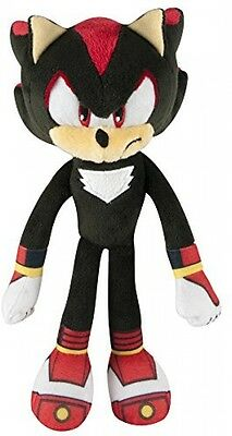 Sonic Boom Shadow Hedgehog Plush Toy Sonic 8 Inches