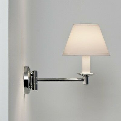 Astro Grosvenor 0511 Chrome & Opaline Glass Bathroom Light IP44
