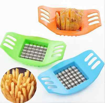 Easy Kitchen French Fry Potato Chip Cut Cutter Vegetable Fruit Slicer Chopper