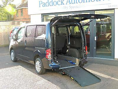Nissan NV200 SE 1.5 DCi Disabled Wheelchair Adapted Vehicle WAV Euro5