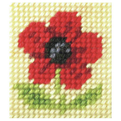 Orchidea Poppy Embroidery Kit