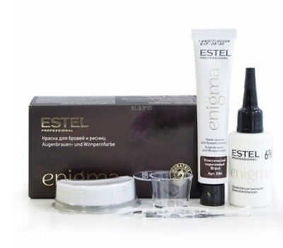 Estel Professional Paint for eyebrows and eyelashes Enigma-BLACK