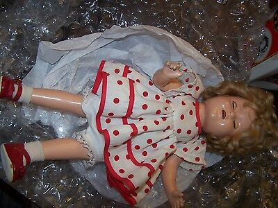 Vintage 15 Inch Jointed Composition Ideal Toy Corp. SHIRLEY TEMPLE Doll c.1930s
