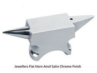 PARUU® Professional Mini horn Anvil satin chrome for precision work st321
