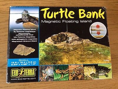 Exo Terra Small Turtle Bank  Magnetic Floating Island