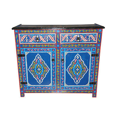 Moroccan Moucharabi Moucharabieh Console Storage Table Arabic Furniture Drawer
