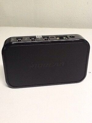 Preowned! Iogear 4-Ports USB Net Share Station Model GUIP204 Free Shipping B23
