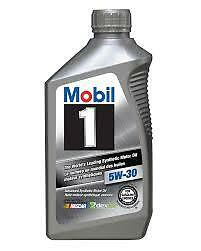 Mobil 1 5W30 Full Synthetic Engine Oil (12 Litres)