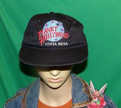 Planet Hollywood Costa Mesa Hat, Embroidered Baseball cap, Vintage Hat