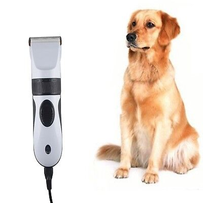TurnRaise Heavy Duty Pet Dog Hair Trimmer Clipper Animal Electric Cat Grooming