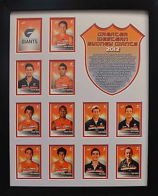 Greater Western Sydney Giants 2012 Framed *Stock Clearance Sales*