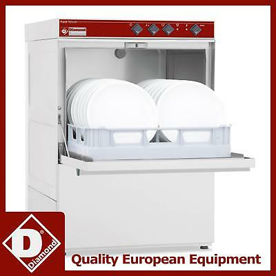 Diamond DC502-NP Commercial Front Loading Dishwasher 500X500MM Basket