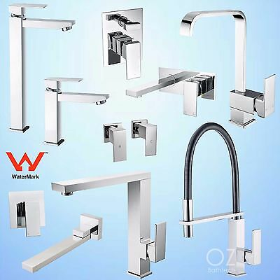 Square Pull Out Shower Tall Basin Mixer Laundry Sink Tap Faucet Bathtub Spout