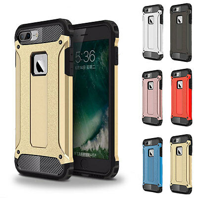 Heavy Duty Shockproof Hybrid Rugged Hard Protector Case Cover For iPhone 7 Plus