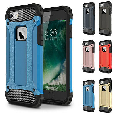 Shockproof Hybrid Rugged Heavy Duty Armor Slim Protect Case Cover For iPhone 7