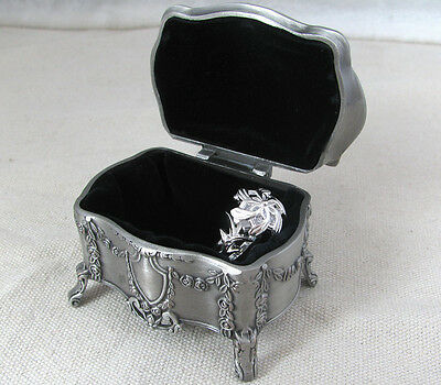 925 Silver Lord of the ring Nenya Ring LOTR Movie Elf Ring & Jewelry Box women