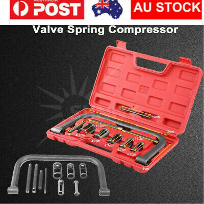 New 10pc Valve Spring Compressor Tool Kit for Car Motorcycle Petrol Engines AU