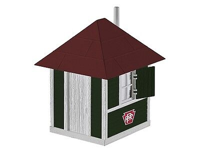 O O27 scale Pennsylvania RR Crossing Shanty Structure Lionel  6-81433