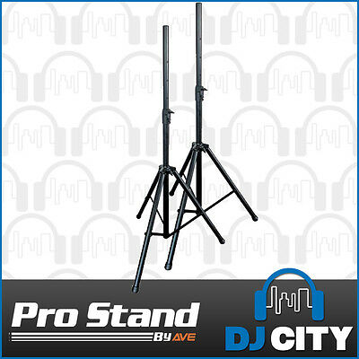 SS040 Pro Speaker Stand PAIR in Bag Heavy Duty 35mm 60Kg PA Professional DJ S...