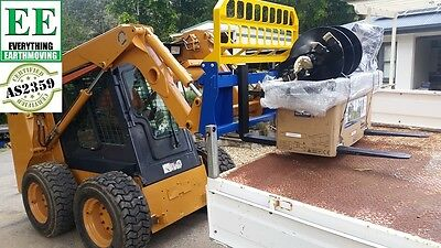 Weight Capacity:1800 Kg pallet forks for Bobcats and Skid Steers