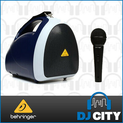 Behringer EPA40 Handheld Portable Speaker with Wired Microphone 40W