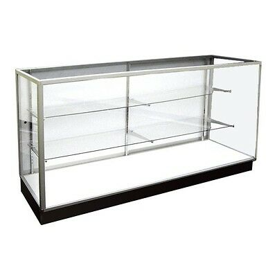 Extra Vision Showcase 6' Long-Glass Display Case-Retail Display Case
