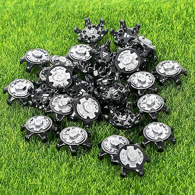 14/28Pcs Golf Shoe Spikes Champ Soft Pins Thread Fast Twist Screw Studs Stinger