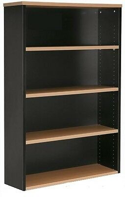NEW Office Home Student Executive bookcase shelves shelving 1500 H